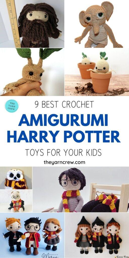 9 Best Crochet Amigurumi Harry Potter Toys For Your Kids PIN 1
