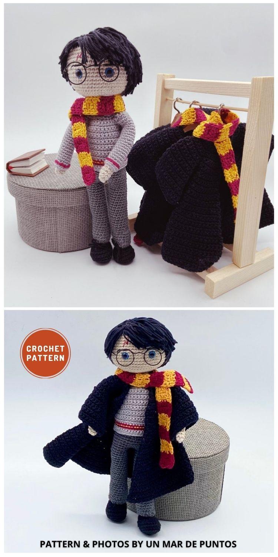Amigurumi Harry Potter - 9 Best Crochet Amigurumi Harry Potter Toys For Your Kids