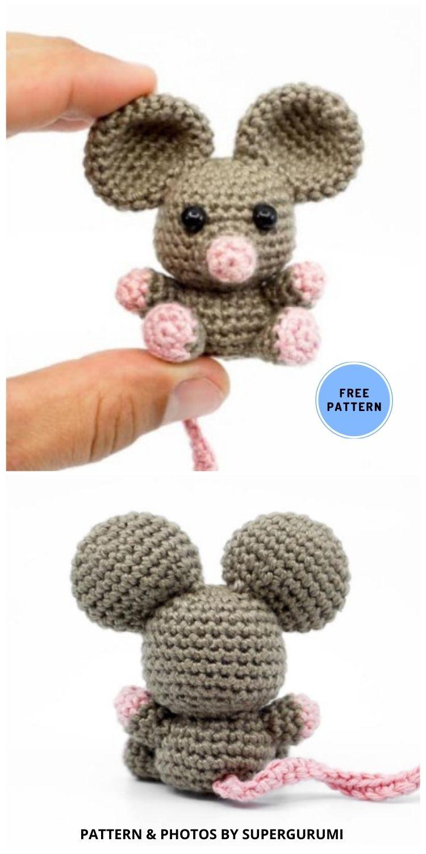 Amigurumi Mouse - 9 Perfect Crochet Rat Toy Ideas For Kids & Pets