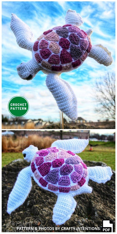 Amigurumi Sea Turtle - 12 Fun & Awesome Amigurumi Turtle Crochet Patterns
