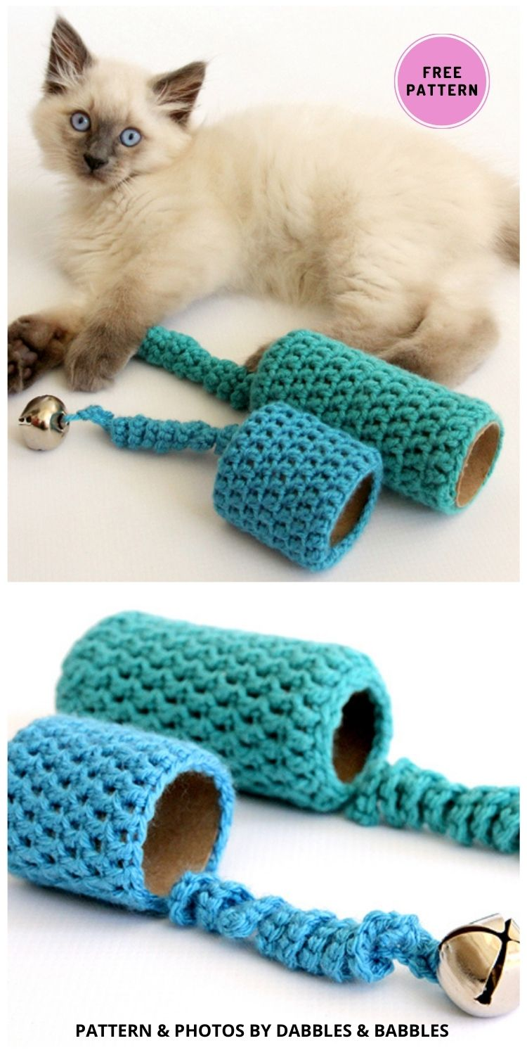 Crochet Cat Toy - 7 Cute Free Crochet Toy For Cats