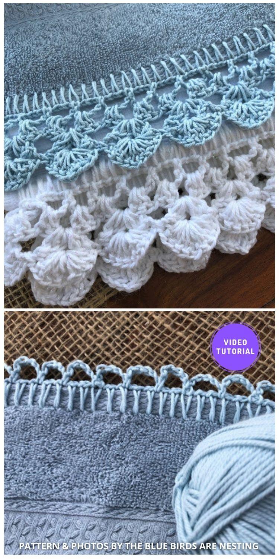 Crochet Edge - 8 Free Best Lace Border Crochet Tutorials