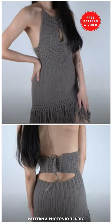 Crochet Fringe Dress - 10 Stylish Crochet Outfits For Festivals