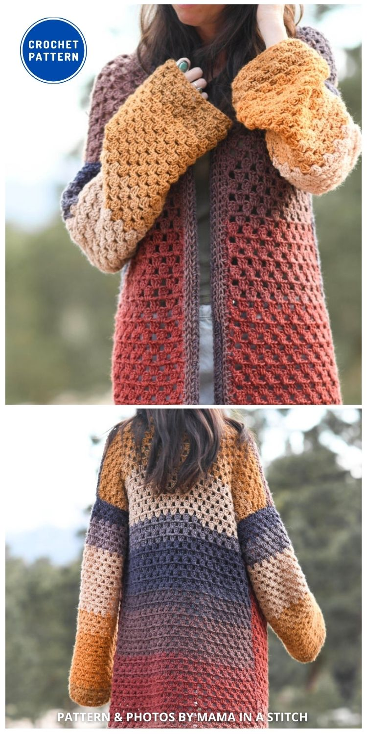 Endless Eyelets Cardigan - 10 Chic Crochet Lacy Cardigans For The Summer