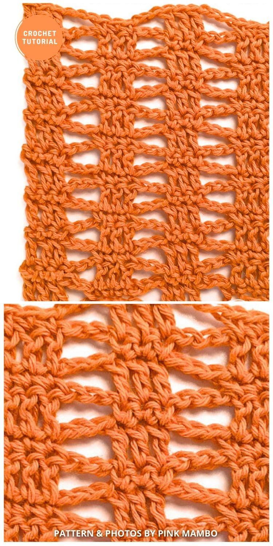 Gentle Waves Crochet Stitch - 9 Beautiful Crochet Wave Stitch Patterns