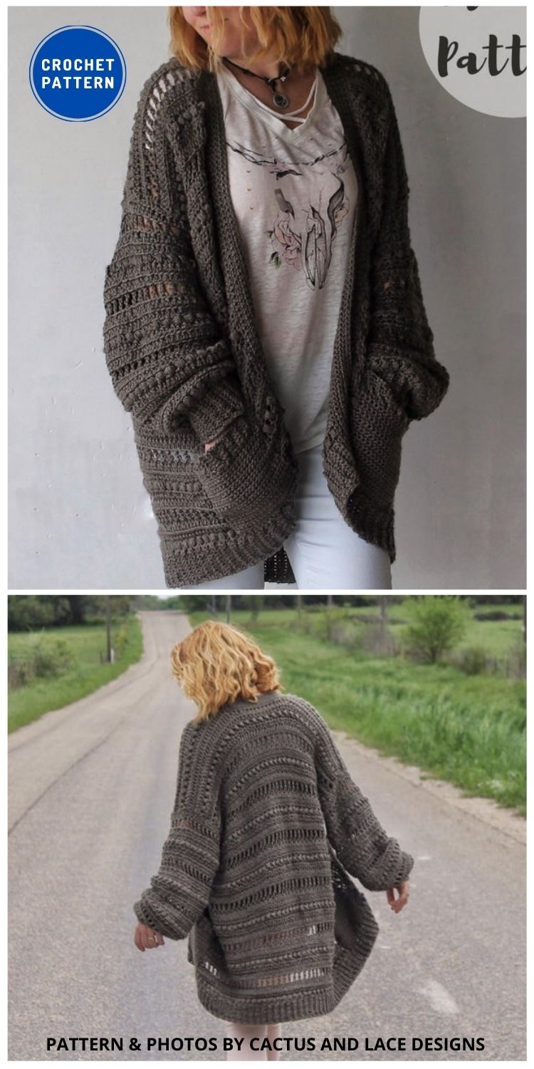 The Haven Cardigan - 10 Chic Crochet Lacy Cardigans For The Summer