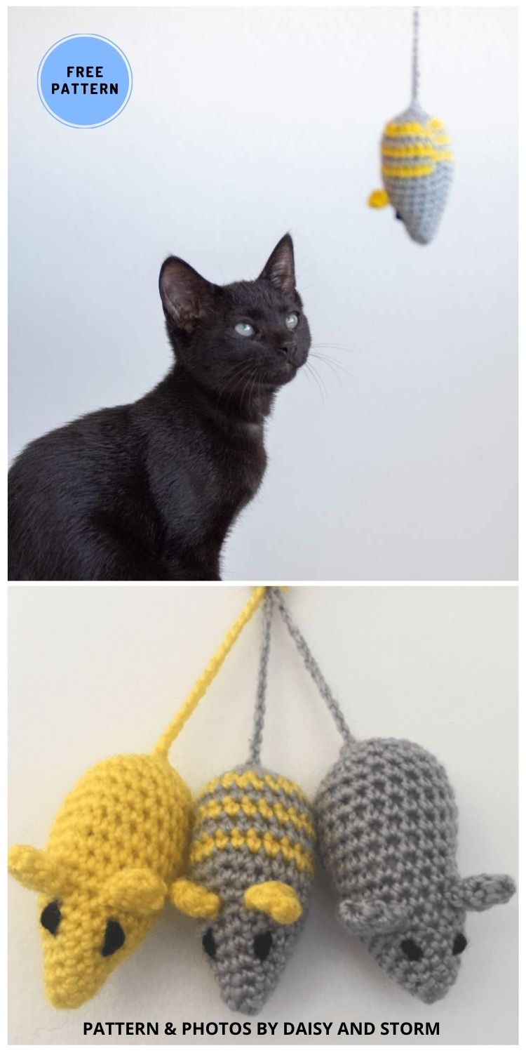 Toy Mouse - 9 Perfect Crochet Rat Toy Ideas For Kids & Pets
