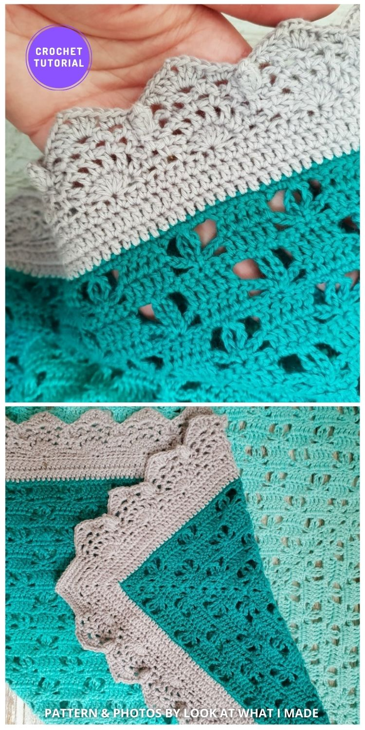 Whipsiderry Border - 8 Free Best Lace Border Crochet Tutorials