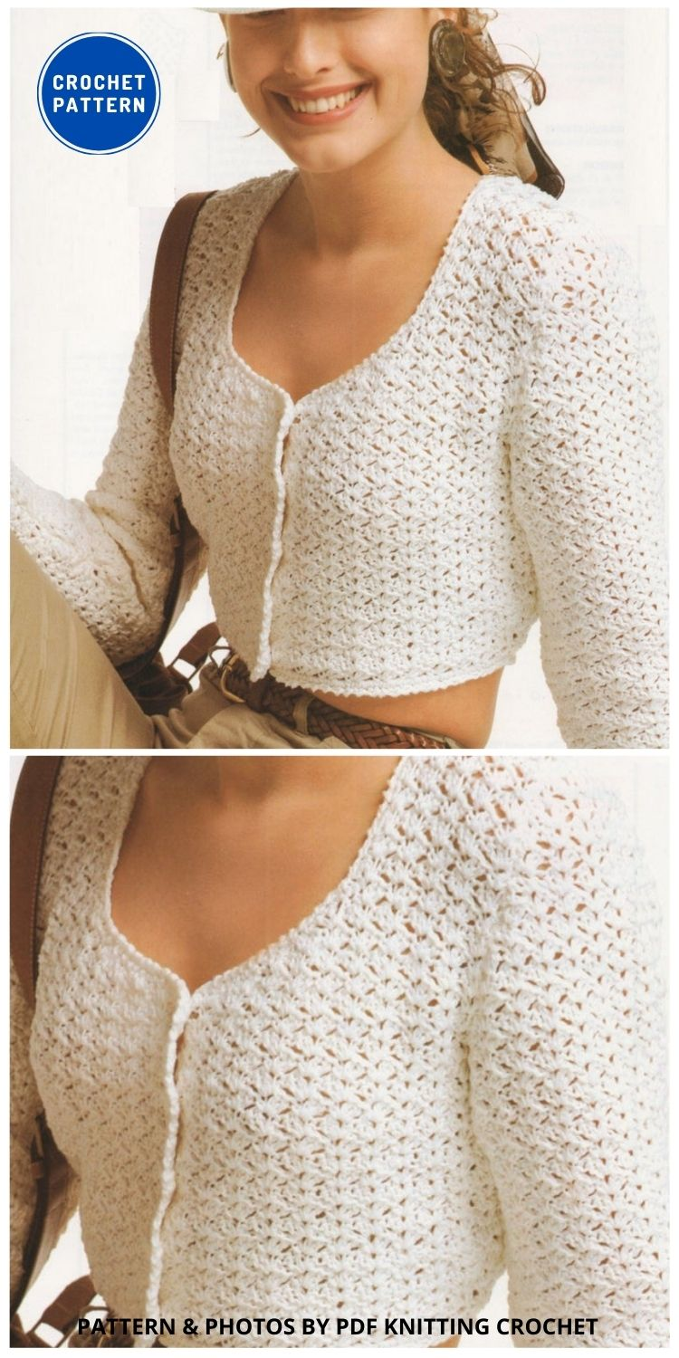 Women's Cardigan Crochet - 10 Chic Crochet Lacy Cardigans For The Summer