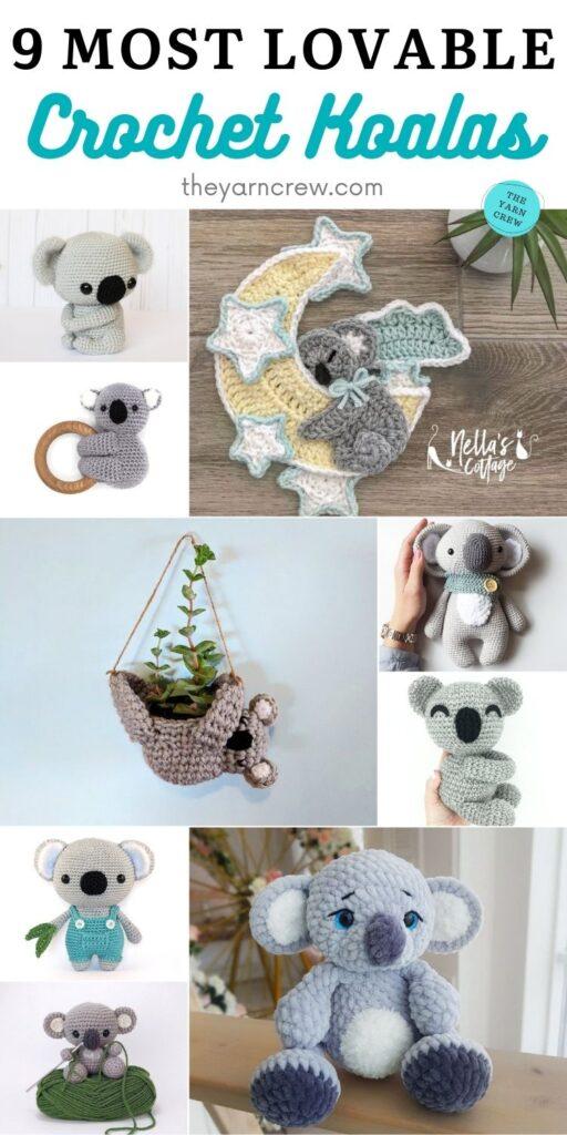 9 Most Lovable Crochet Koalas PIN 2
