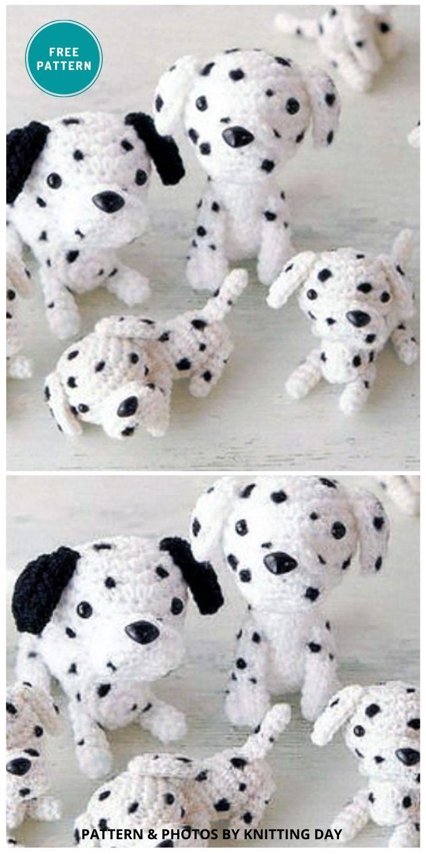 Amigurumi Dalmatian - 8 Crochet Amigurumi Dalmatian Patterns For Children (1)