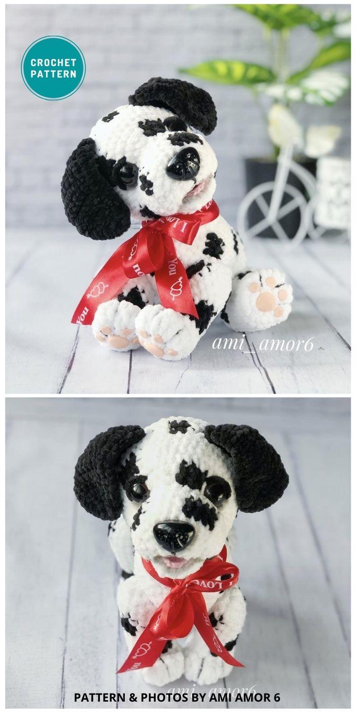 Amigurumi Dalmatian - 8 Crochet Amigurumi Dalmatian Patterns For Children