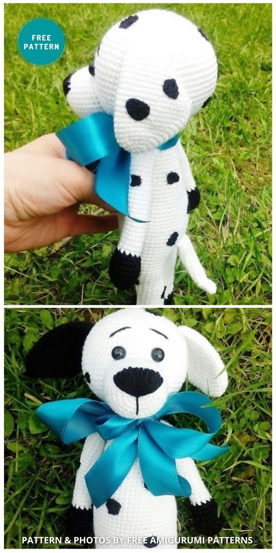 Amigurumi Dalmatian Dog - 8 Crochet Amigurumi Dalmatian Patterns For Children