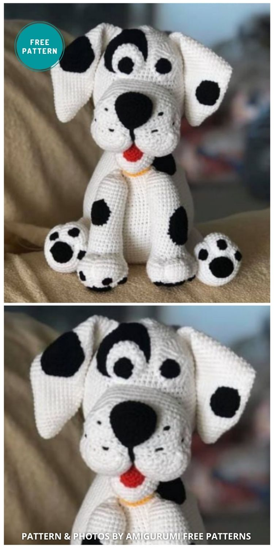 Amigurumi Dalmatians Dog - 8 Crochet Amigurumi Dalmatian Patterns For Children