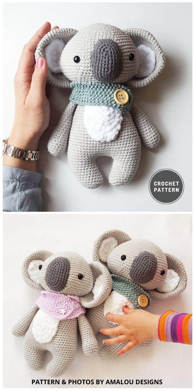 Amigurumi Häkel Anleitung Koala Pepe - 9 Most Lovable Crochet Koala Patterns For Kids