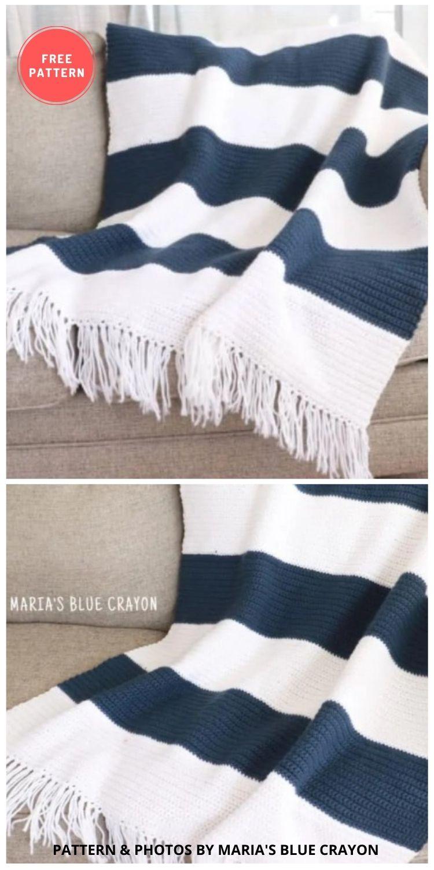 Crochet Blanket Pattern - 10 Best Crochet Picnic Blanket Patterns For Family Outing