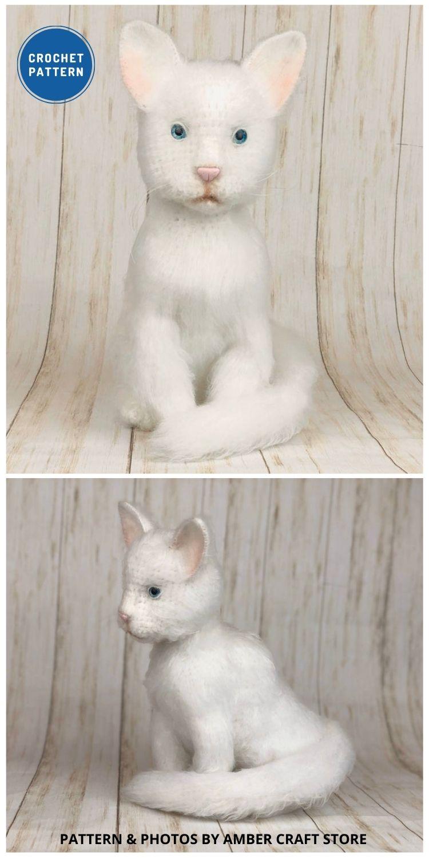 Crochet Kitten - Top 6 Cuddly Realistic Cat Crochet Ideas