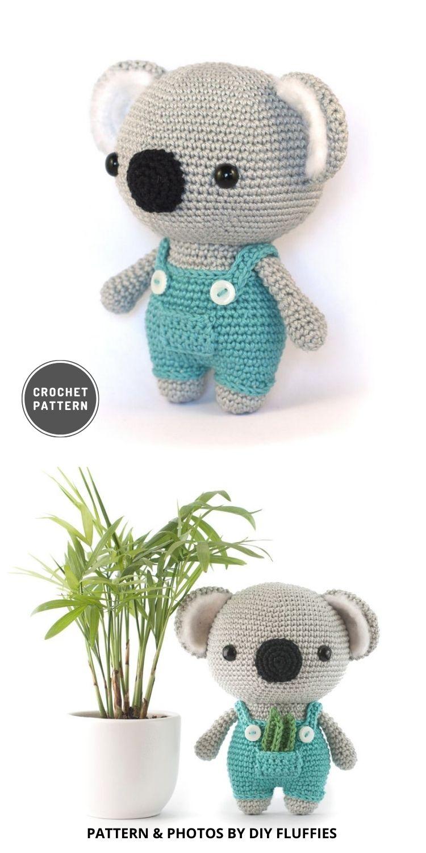 Cute Koala Amigurumi Crochet Pattern - 9 Most Lovable Crochet Koala Patterns For Kids