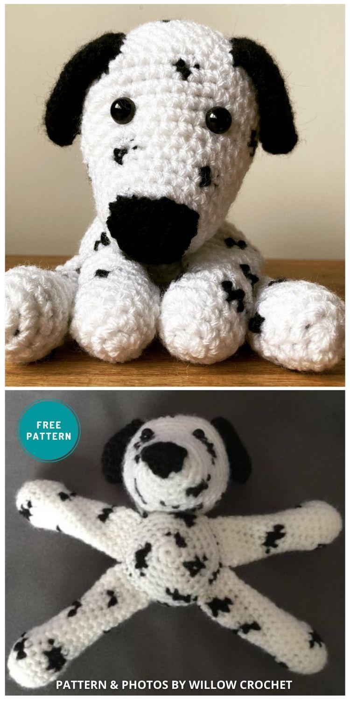 Dalmatian Amigurumi - 8 Crochet Amigurumi Dalmatian Patterns For Children