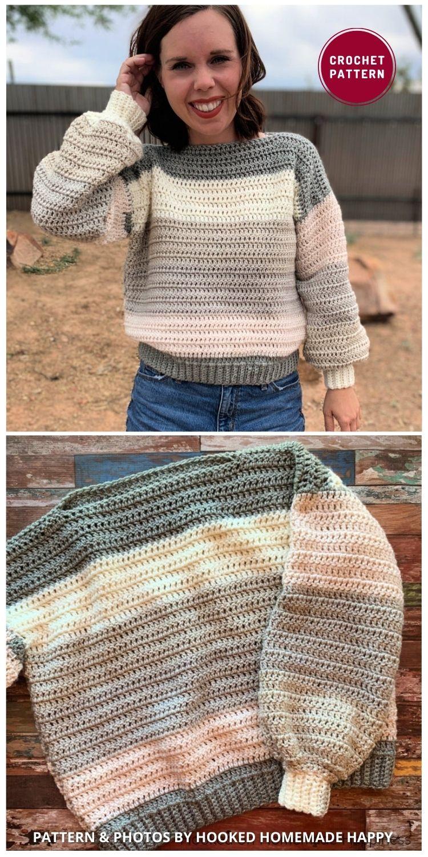Every Girl Sweater Crochet Pattern - 12 Trendy Crochet Sweater Patterns For Women Ideas