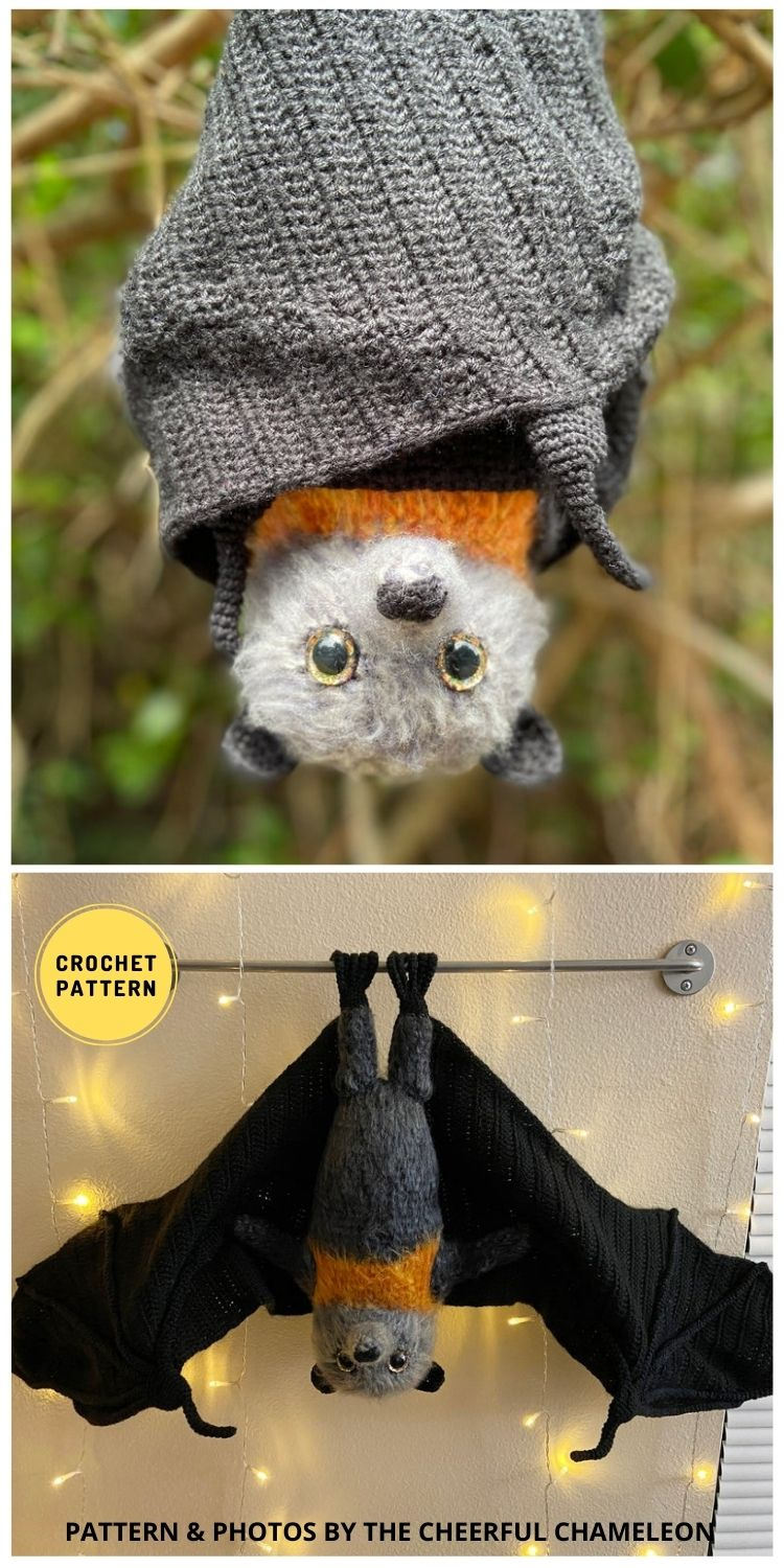 Flynn - 9 Incredible Realistic Crochet Bug, Critter And Reptile Patterns