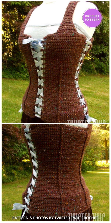 Gypsy Corset - 7 Classy Crochet Corset Patterns For Women