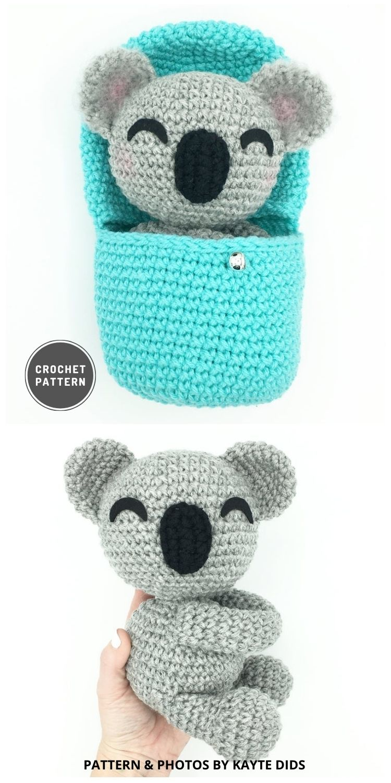 Hatching Koala - 9 Most Lovable Crochet Koala Patterns For Kids