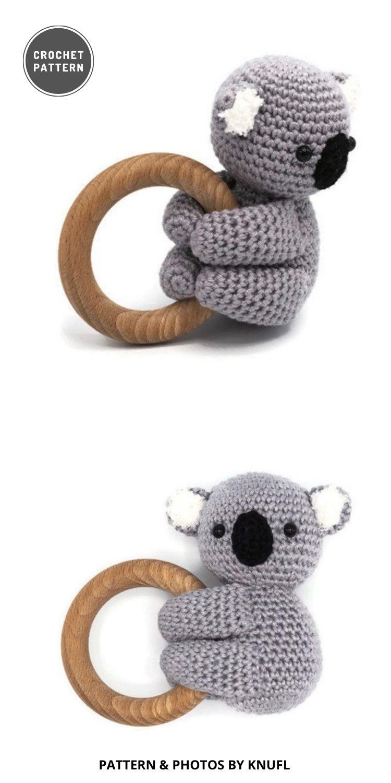 Rattle Koala - 9 Most Lovable Crochet Koala Patterns For Kids