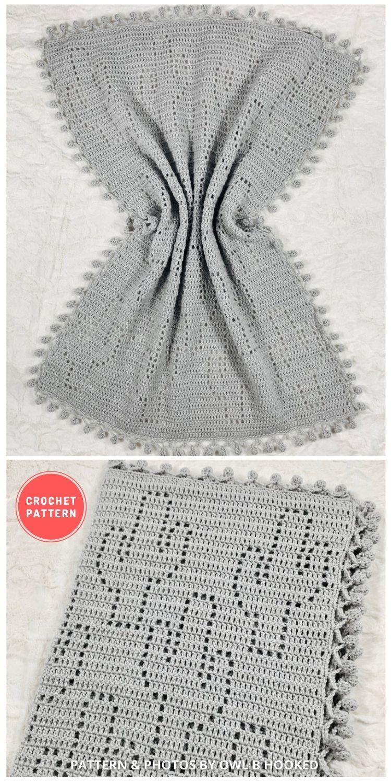Sedona Blanket Pattern - 10 Best Crochet Picnic Blanket Patterns For Family Outing