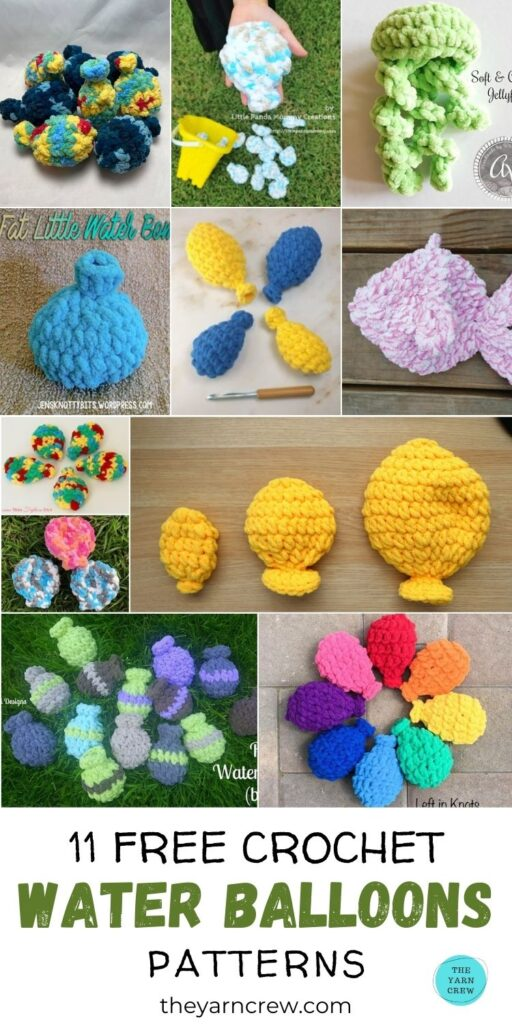 11 padrões de balão de água de crochê grátis PIN 3