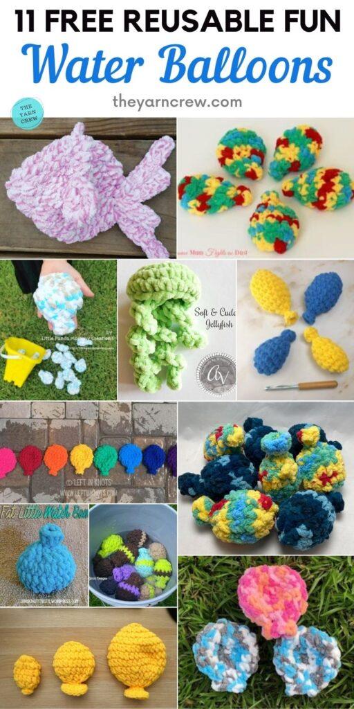 11 balões de água divertidos reutilizáveis gratuitos PIN 2