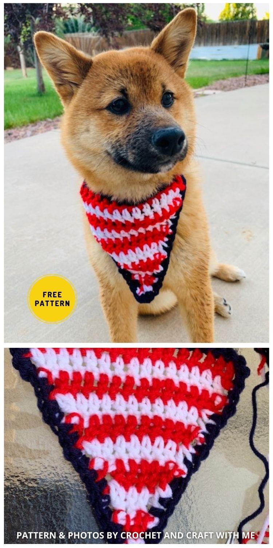 Puppy Bandana - 8 Free Unique Crochet Dog Bandana Patterns