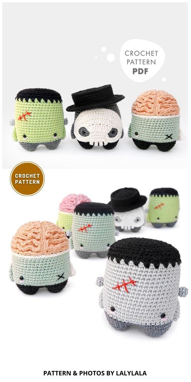 Halloween Crochet Pattern - 7 Spooky Crochet Zombie Patterns For Halloween